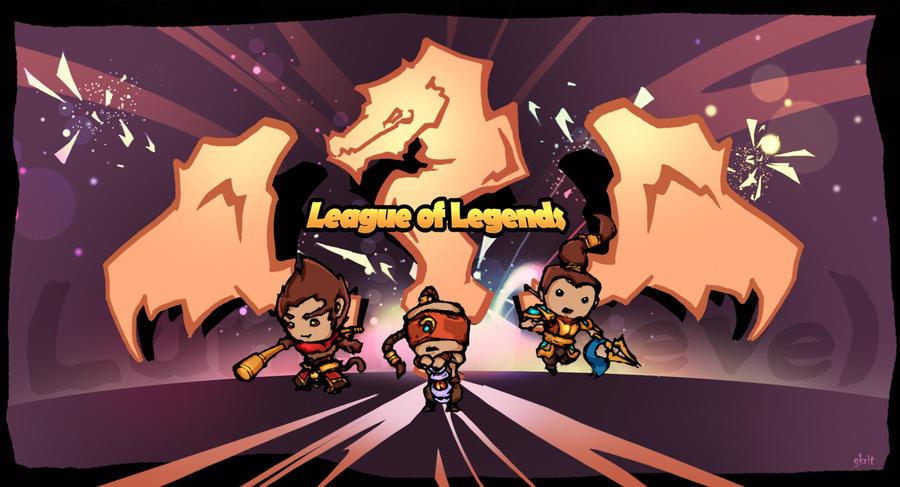 League of Legends ~ Fanart by gkrit