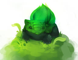Bulbasaur by gkrit