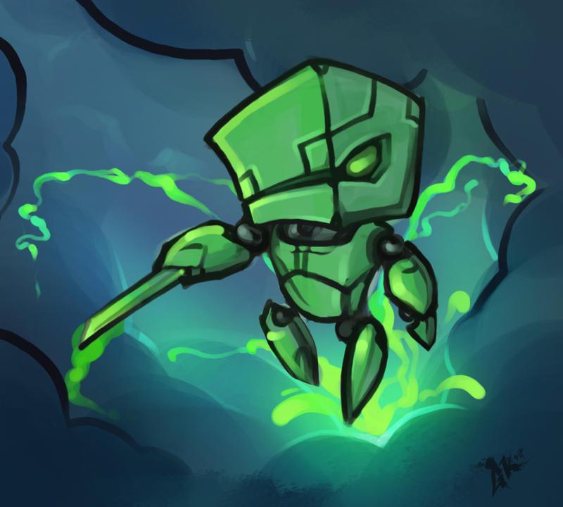 Acid Bot by gkrit