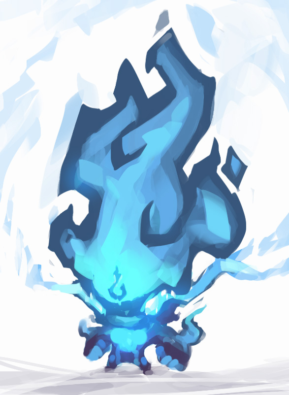 Blue flame by gkrit