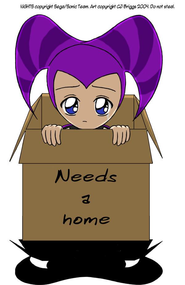 NiGHTS needs a home... by artisticTaurean