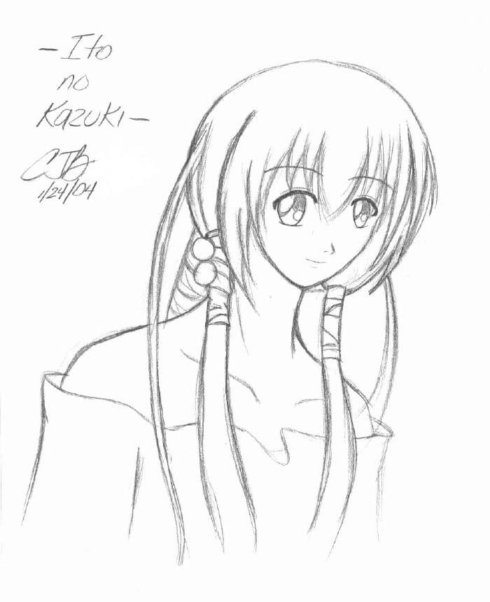 Kazuki of the Strings sketchie by artisticTaurean