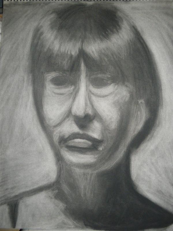 Life Drawing - Head Study 2 by artisticTaurean