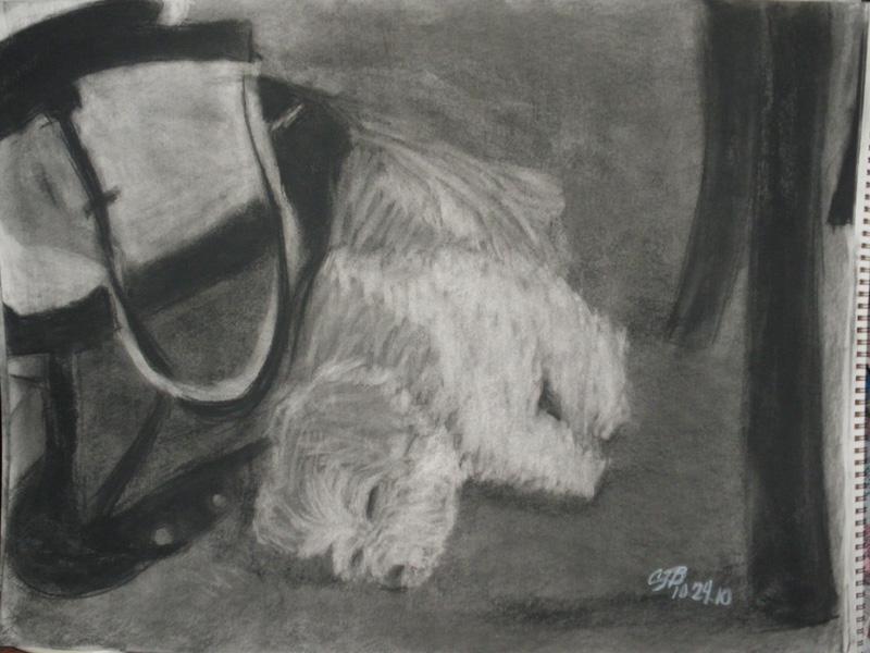 Oliver asleep by artisticTaurean