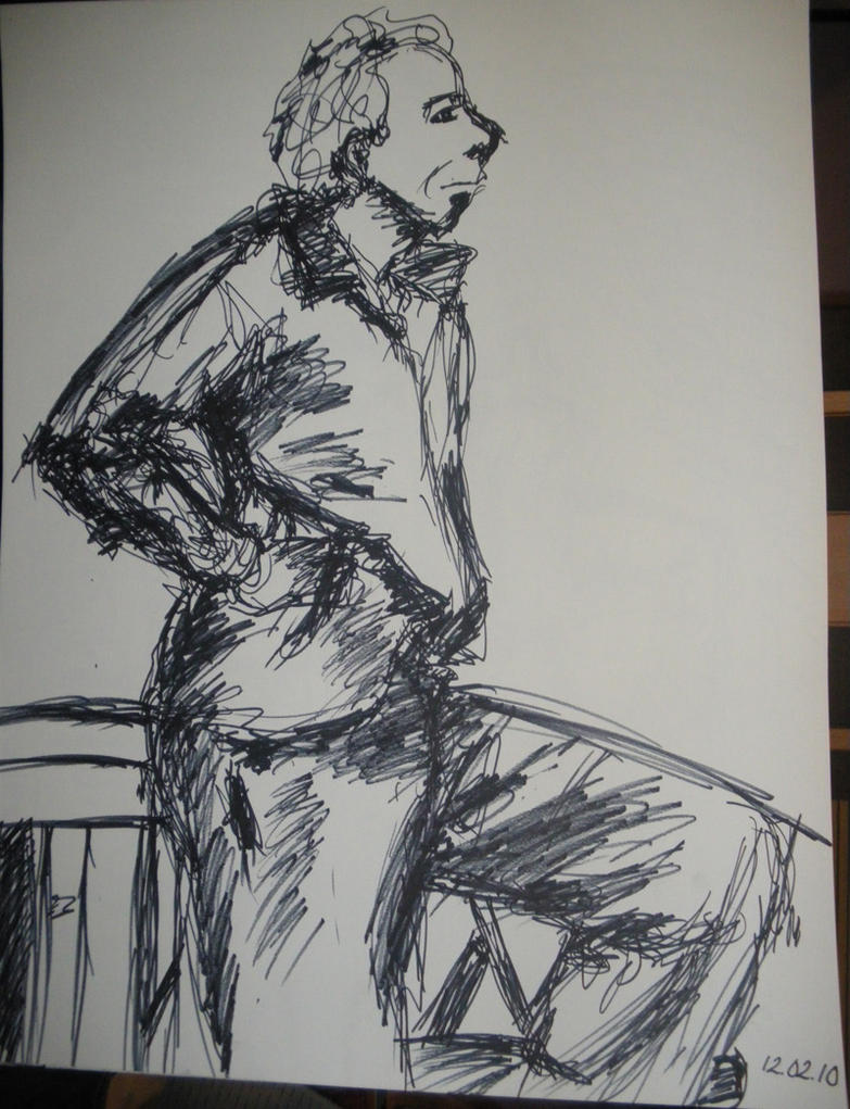 Life Drawing - Right-handed by artisticTaurean