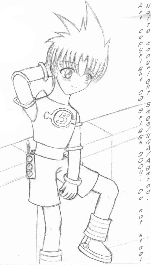 Space Channel 5 - Noize sketch by artisticTaurean