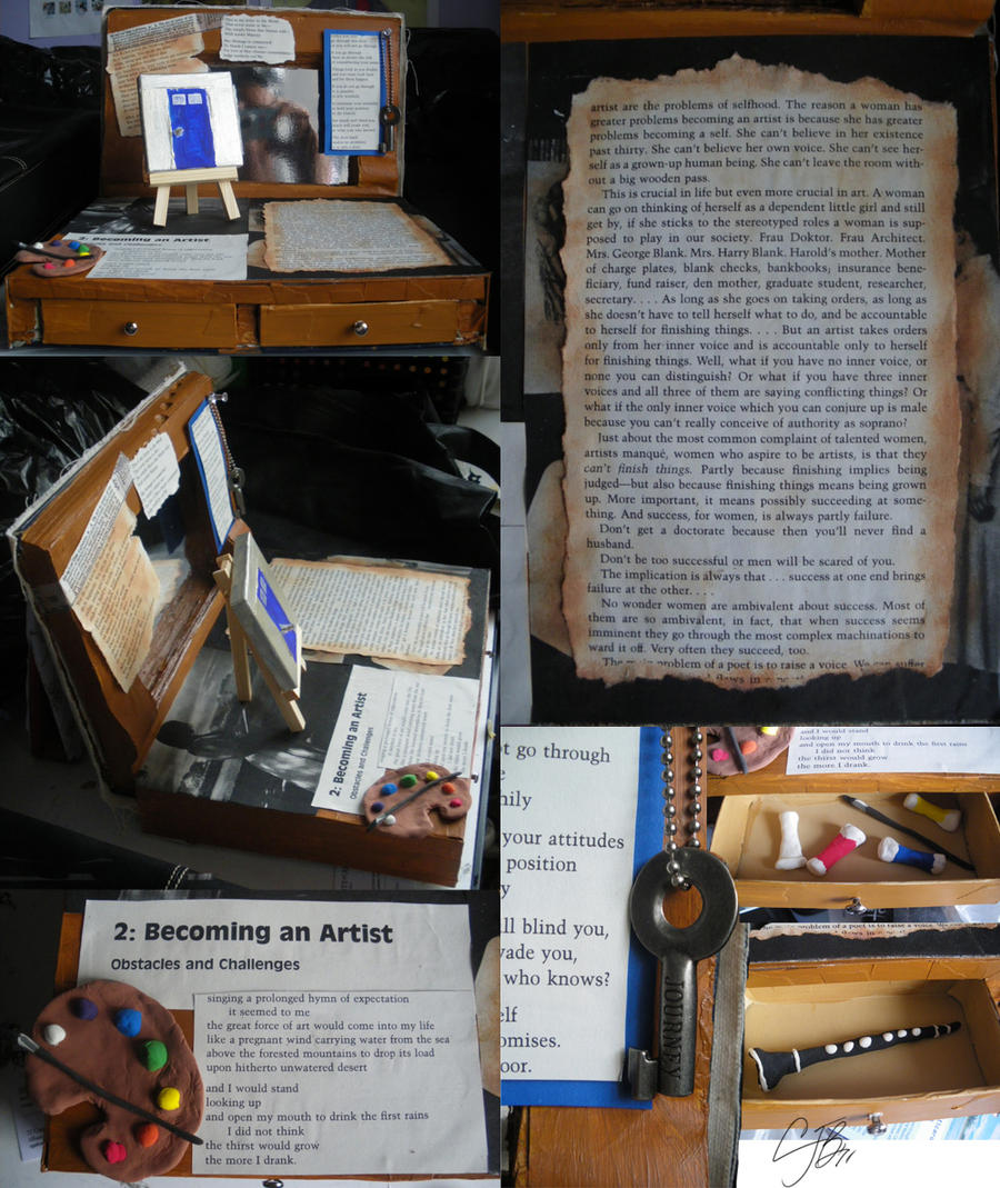 Artist's Book by artisticTaurean