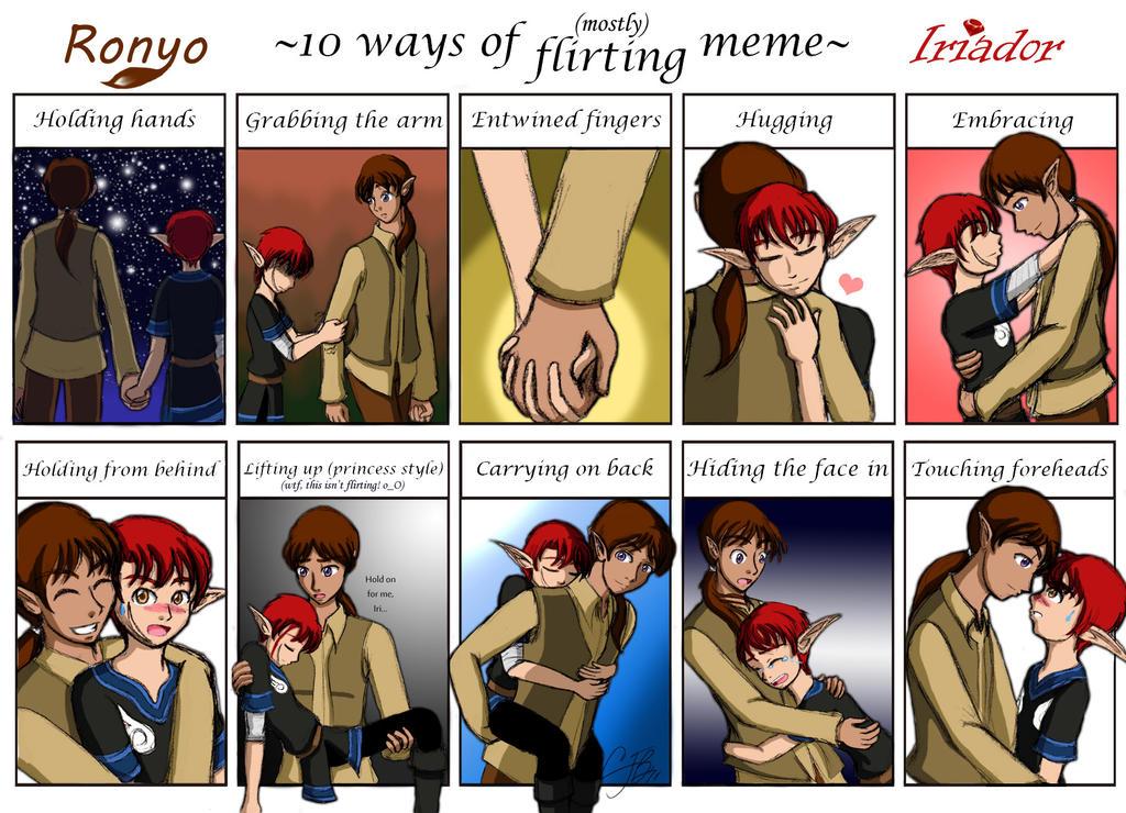 10 Ways Meme -Ronyo + Iri- by artisticTaurean