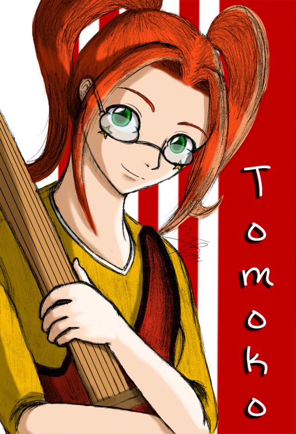 Tomoko by artisticTaurean