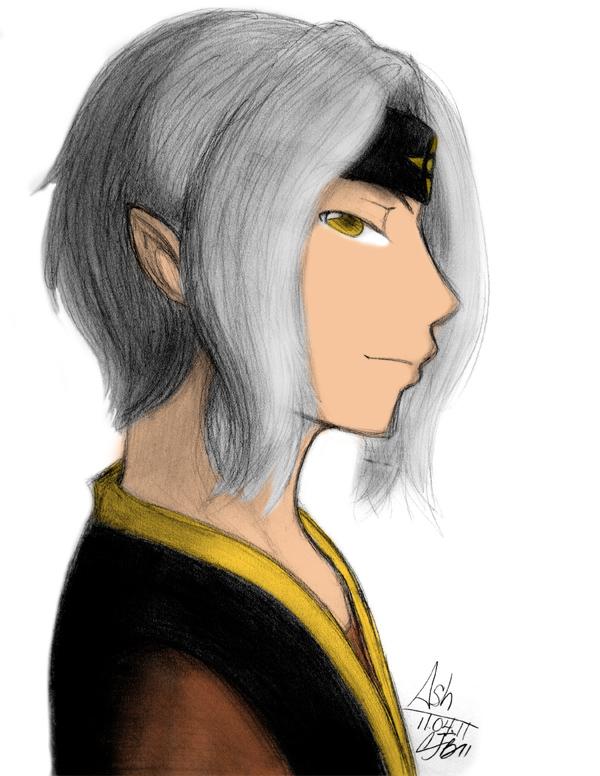 Portrait 06 - Ash by artisticTaurean