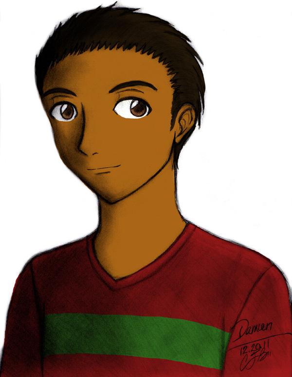 Portrait 12 - Damien by artisticTaurean