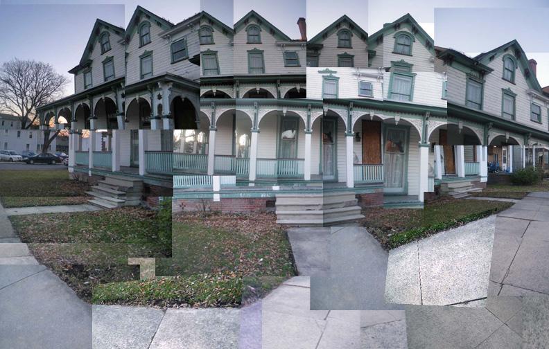 Digital Art - Collaged House by artisticTaurean