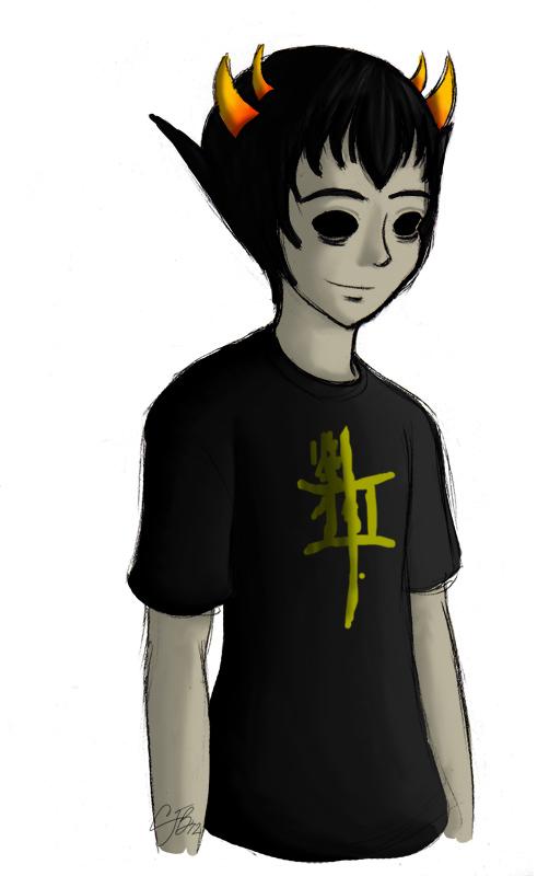 HS: Blind Sollux by artisticTaurean