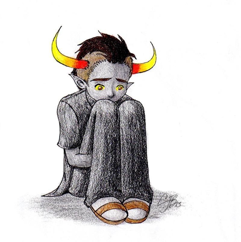 HS: Sad Tav by artisticTaurean