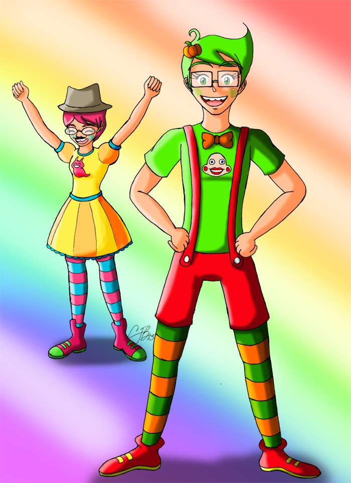 HS: Trickster Jake and Jane by artisticTaurean