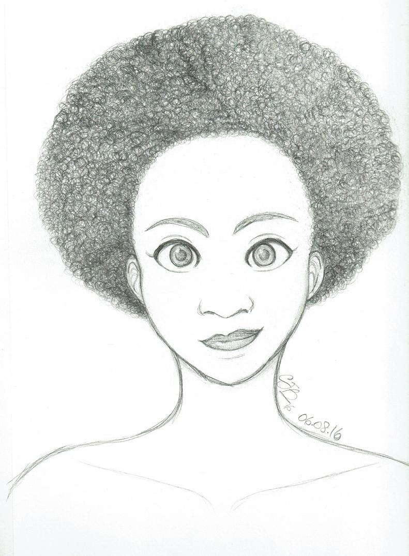 AfroGurl by artisticTaurean