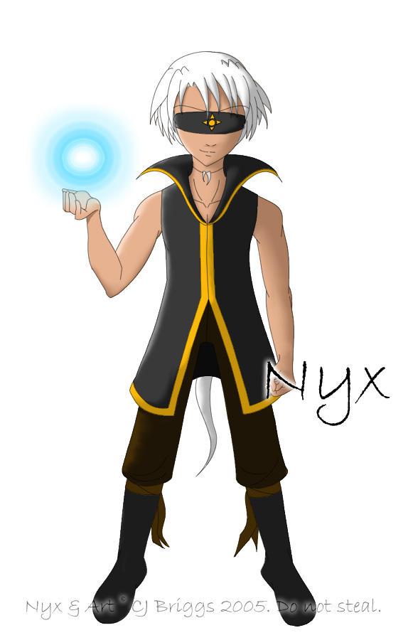 Nyx - Jynx's Twin by artisticTaurean