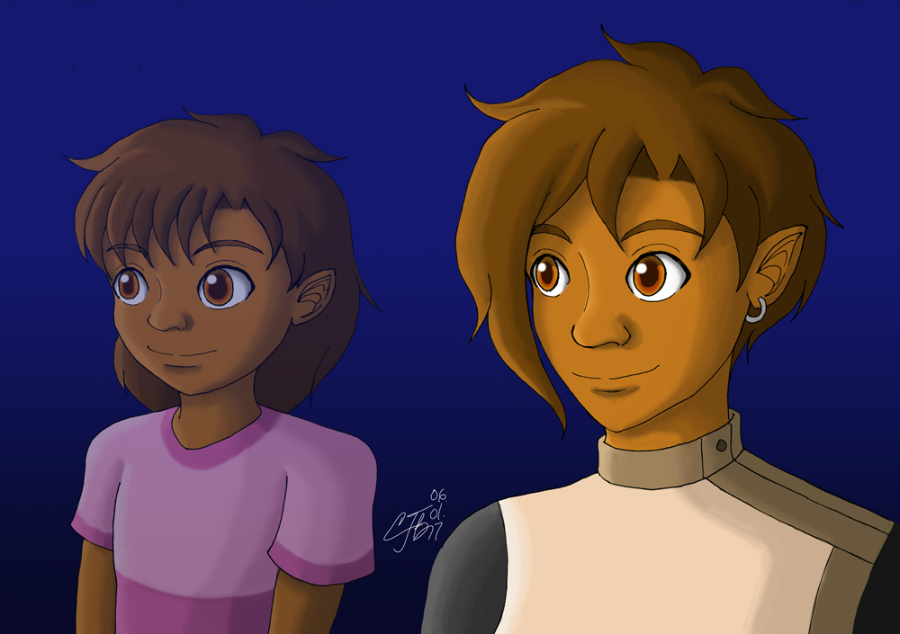 Reilly ~6 and 24 years old~ by artisticTaurean