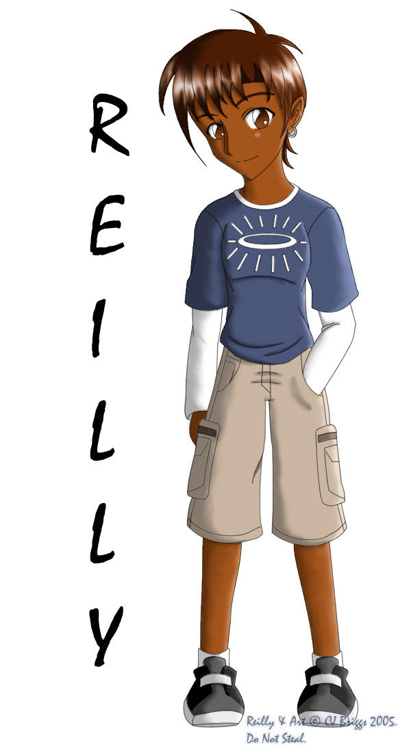 Reilly in street clothes by artisticTaurean