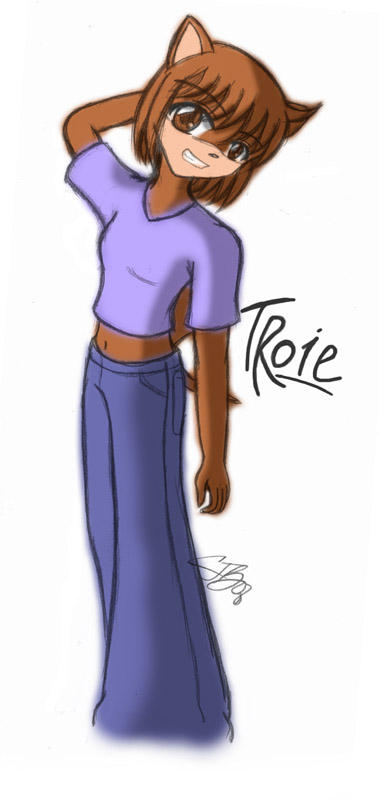Old-school Troie by artisticTaurean
