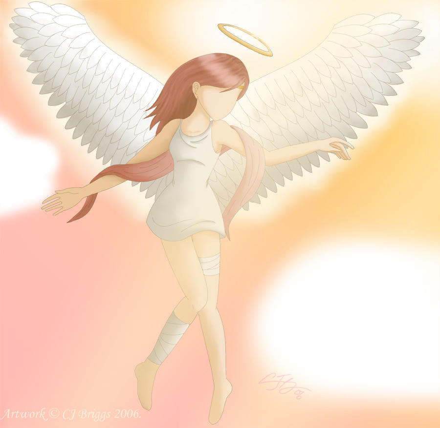 The Faceless Angel by artisticTaurean