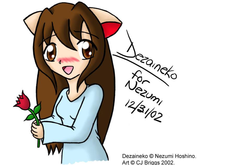 Dezaineko for Nezumi by artisticTaurean