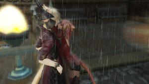 FFXIV When it rains.