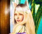Ahri KDA fan art Render by Zenonmyst