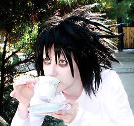 L - Death Note by Mytho-xx