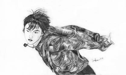 Yuzuru Hanyu by Mytho-xx