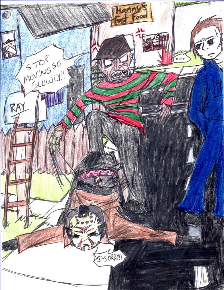 Slow Walker by HorrorMadnessPeep