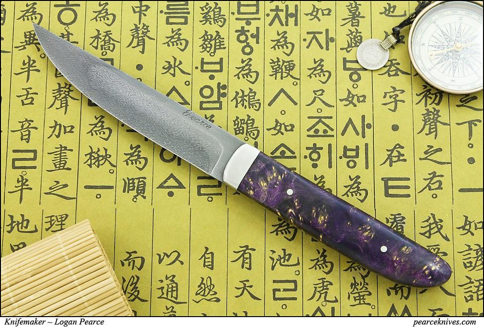 Purple Rain Knife by Logan-Pearce