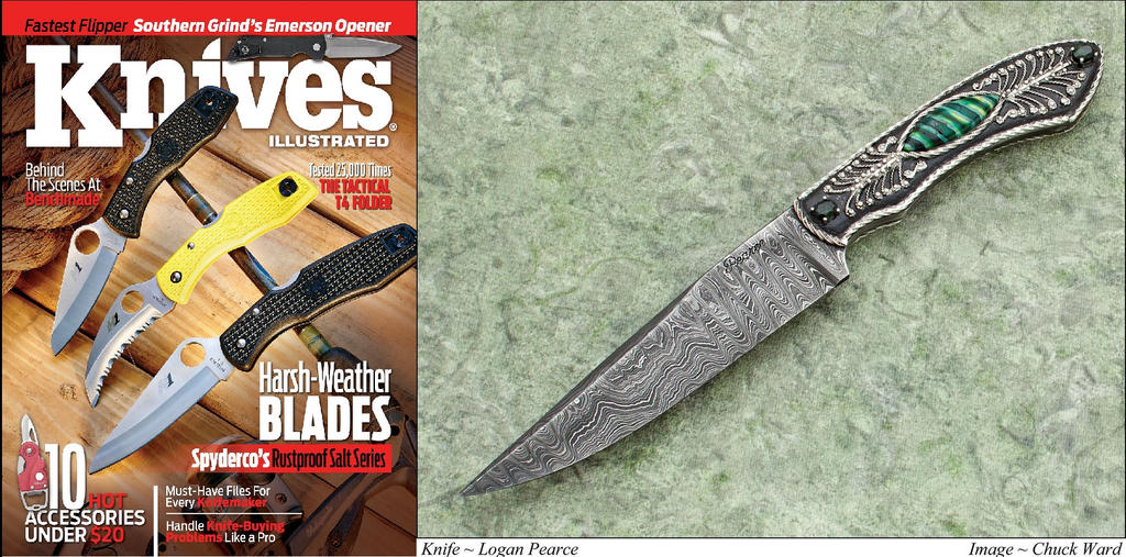 Knives Illustrated 2014 by Logan-Pearce