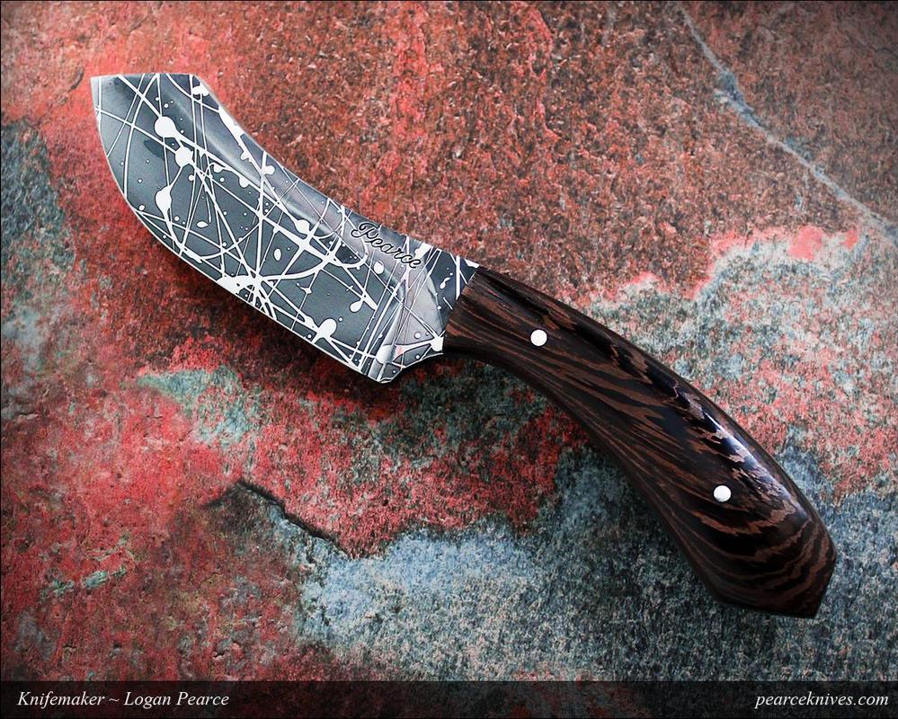 Splatter Knife by Logan-Pearce
