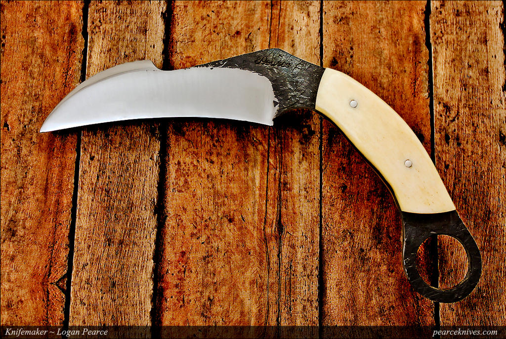Forged Karambit by Logan-Pearce