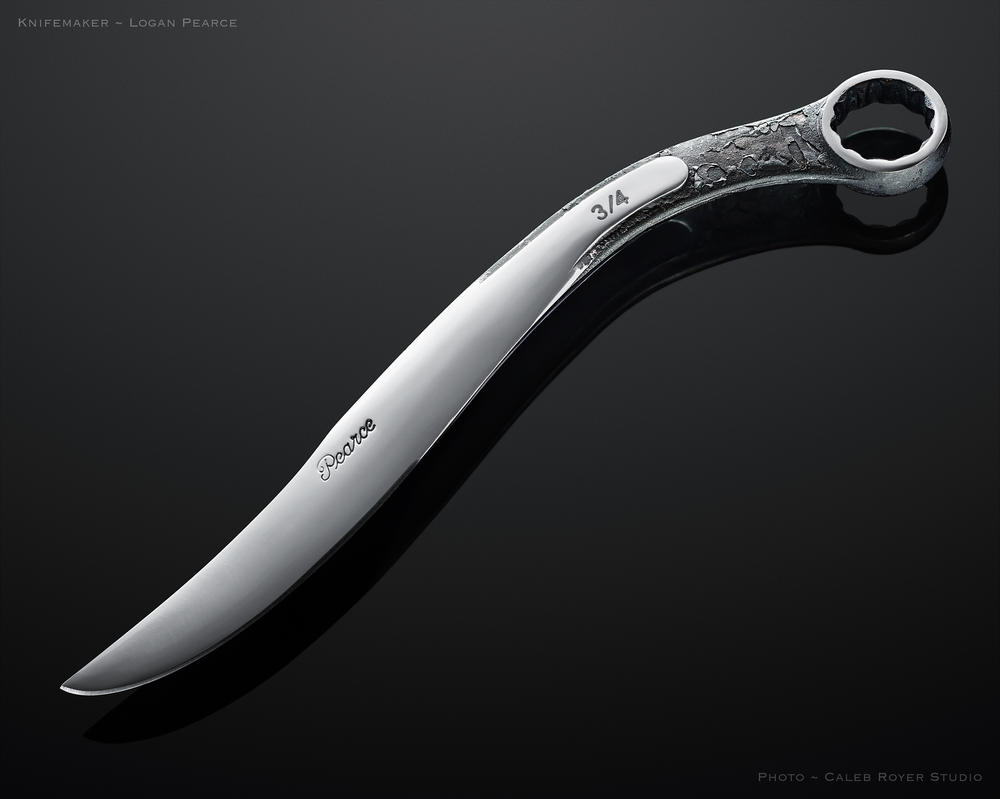 Wrench Knife by Logan-Pearce
