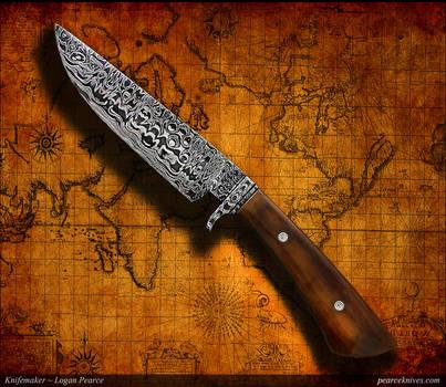 Jack Daniel's knife by Logan Pearce