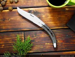 Pearce Horseshoe Knife by Logan-Pearce