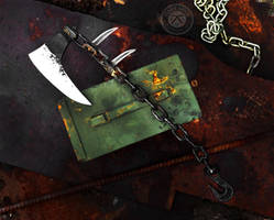 Chain Axe by Logan-Pearce