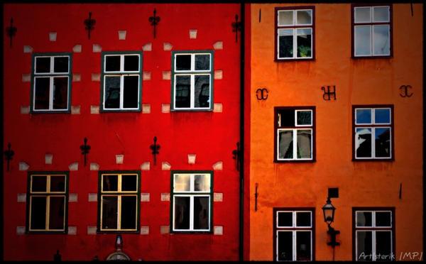 Stockholm Houses By Artisterik On Deviantart