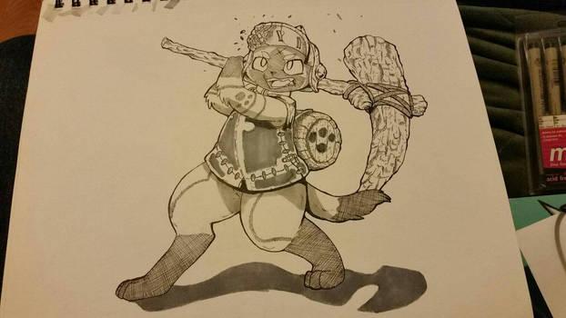 Palico-Derringer Armour