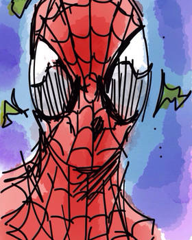 Spidey iphone sketch