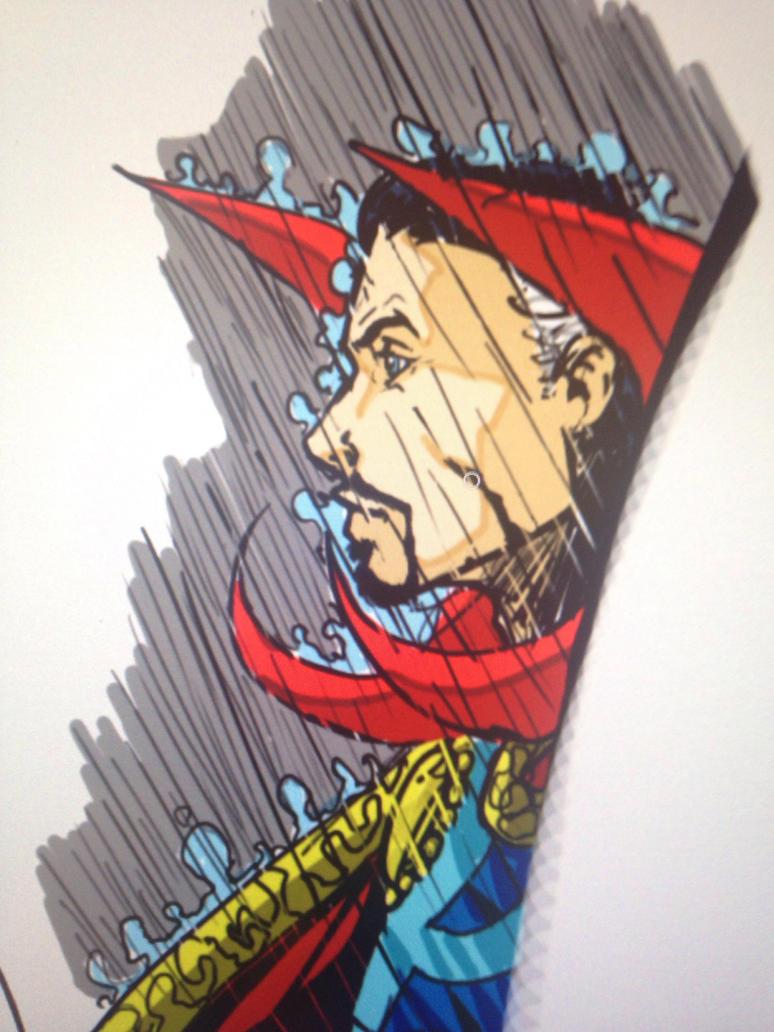 Strange in the rain by larthosgrr8