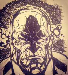 Darkseid sketch by larthosgrr8