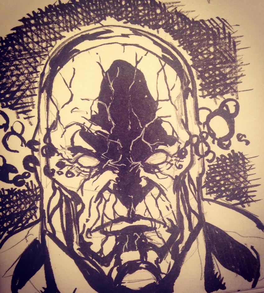 Darkseid sketch by larthosgrr8