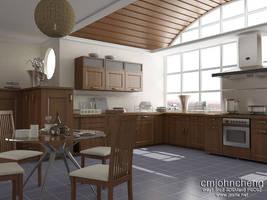 Kitchen by cmjohncheng
