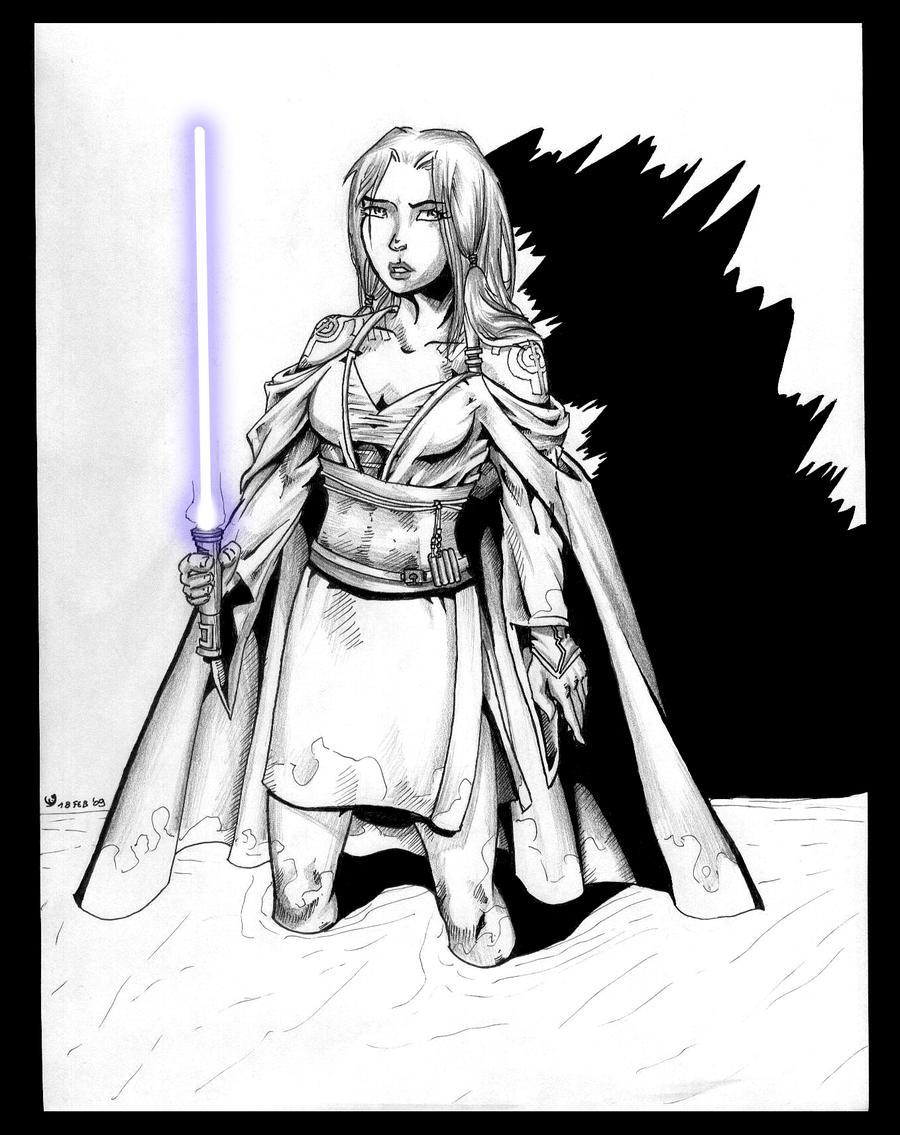 Jedi Tanake Trang by Sofie3387