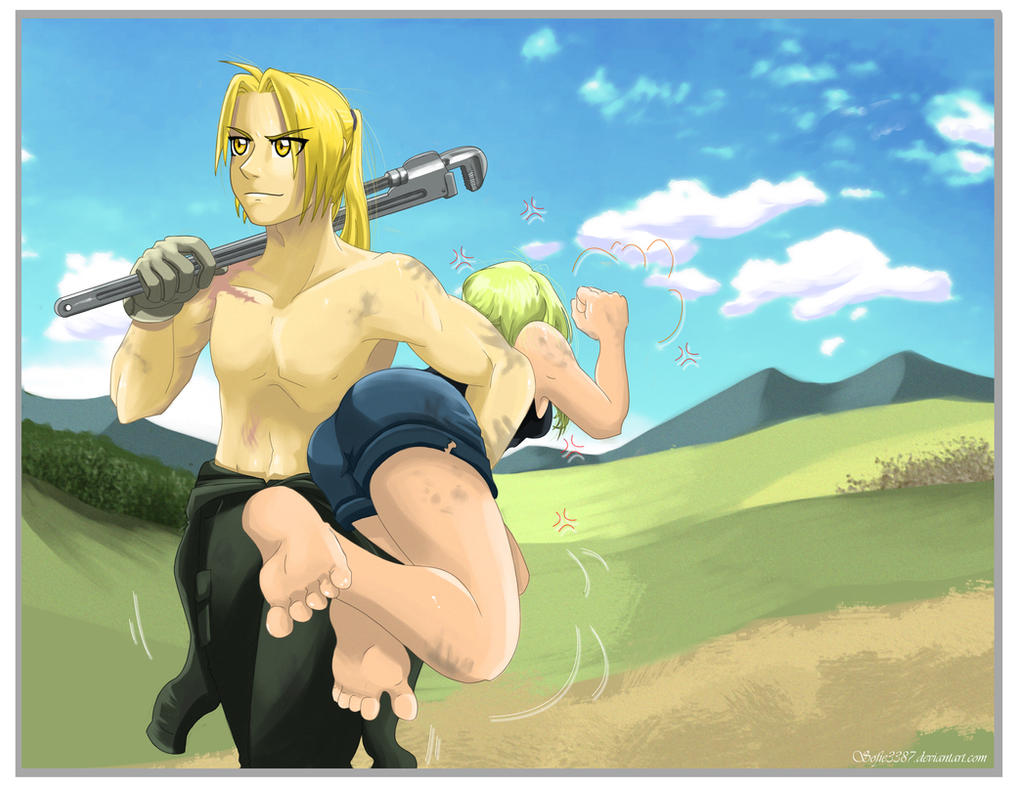 FMA: Ed's got the bigger wrench. by Sofie3387