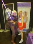 CEII: The Dark Woman cosplay + Ashley Eckstein by Sofie3387