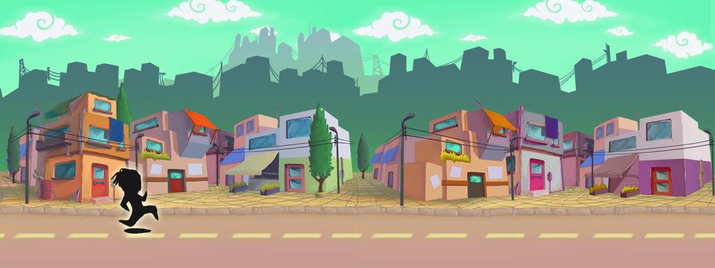 2d City Backgrou...2d City Background